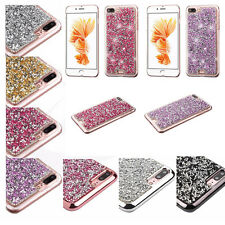Bling Hybrid Glitter TPU Protective Hard Case Cover For Apple iPhone 7 Plus 7