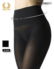 Seamless tights with comfort waistband 50 denier opaque Black S/M/L
