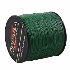 Spectra Moss Green 100-2000M 6-300LB Super Strong Dyneema Braided Fishing Line