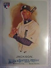 2010 Topps Allen and Ginter Detroit Tigers Baseball #319 Austin Jackson RC