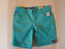 Arizona Jean Co. Girls Jean Shorts Bermuda Distressed  Sizes 14H 14S  NWT Blue