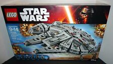 LEGO Star Wars Millennium Falcon 75105 The Force Awakens NEW FACTORY SEALED