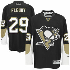 Marc-Andre FLEURY Pittsburgh Penguins Rbk Premier Officially Licensed NHL Jersey