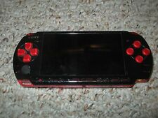 Sony PSP 3001 God of War Entertainment Pack Red & Black System Playstation 3000