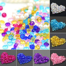 2000Pc New Wedding Decoration Scatter Table Rhinestone Acrylic Confetti Hot Sale