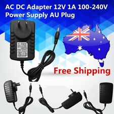 AC DC Adapter 12V 1A 100-240V Converter Adapter Charger Power Supply AU Plug NEW