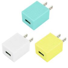 Hot Universal Mini Port USB AC Dual Wall Charger Socket Adapter For Cell Phone