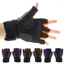 Outdoor Sports Half Finger Gloves Motorcycle Bike Bicycle Riding Cycling Gloves
