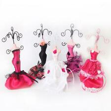 Mannequin EVENING Dress Jewelry Earring Necklace Stand Display Holder Organizer