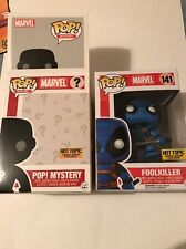 Funko Pop Mystery Deadpool Blue Foolkiller Hot Topic Limited Edition Exclusive