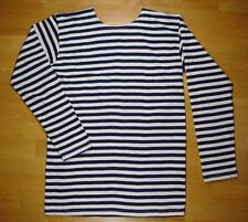 USSR RUSSIAN NAVY SAILOR'S SUMMER STRIPED T-SHIRT TELNYASHKA AUTHENTIC NEW