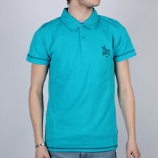 Mens Henri Lloyd Jeans Co. Turquoise Slim Fit Polo Shirt