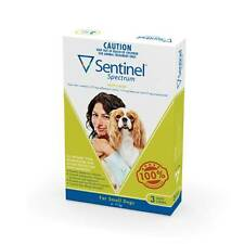 Sentinel Spectrum Small Green for dogs 4-11kg 3 & 6 Pack