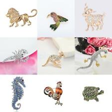 New Fashion Animals Crystal Rhinestone Pin Brooch Costume Jewelry Party