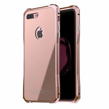 Genuine Luphie Alloy Metal Bumper Frame Glass Cover Slim Case For Iphone 7 7Plus