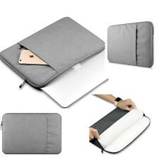 "Canvas Laptop Sleeve Case Cover Bag Pouch for Apple Macbook Air Pro13""15"""