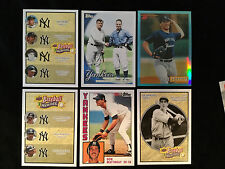 34 New York Yankees Cards INSERTS Derek Jeter Lou Gehrig Babe Ruth Joe DiMaggio
