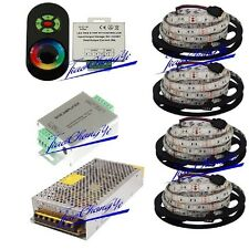 5M to 20M 5050 RGB LED Strip + 18A Touch  Controller+  Amplifier+Power adapter