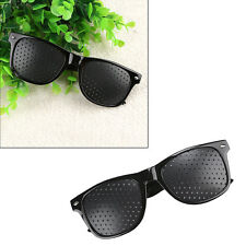 Eyes Exercise Eyesight Vision Improvement Pinhole Glasses Natural Healing Unisex