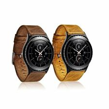 New 22MM Retro Real Leather  Watch Band for ASUS Zenwatch WI500Q & 2nd Gen 49mm