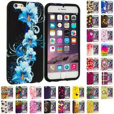 For Apple iPhone 6S (4.7) TPU Design Silicone Rubber Soft Skin Case Cover