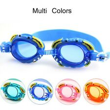 Cute Cartoon Crab Waterproof Junior Kids Childrens Swimming Mask Goggles Glasses