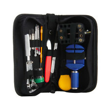 144 Pcs Watch Repair Kit Case Opener Pins Link Remover Spring Bar Tool Set NEW!@
