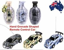 Super Mini Remote Control Car High Speed Hand Grenade Shaped Shell Toy present B