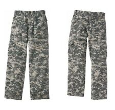 Youth Boys Pants Army Digital Camo Play Back to School Durable 6pocket Not Jeans