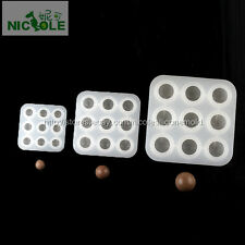 9 Cavities Ball Silicone Soap Molds Baking Fondant Cake Chocolate Candy DIY Tool