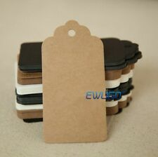 100PCS Pack Christmas Gift Tags Labels Stickers Gift Tags Present Labels Strings