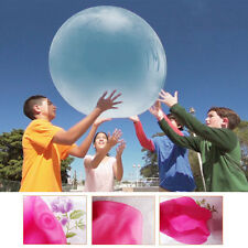 Inflatable Wubble Bubble Ball Out Door Ball Toys with/Air Pump Gift for Kids Toy