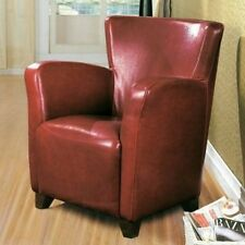 Monarch Specialties Leather-Look Club Chair. Brand New
