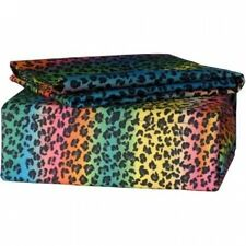Veratex Street Revival Rainbow Leopard Sheet Set. Shipping Included