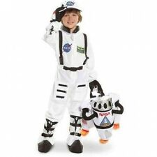 NASA Jr. Astronaut Suit White Child Halloween Costume. Free Delivery