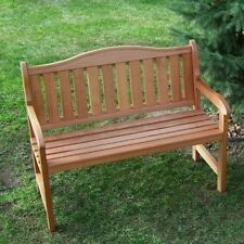 Prairie Leisure Aspen Curved Back Garden Bench. Huge Saving
