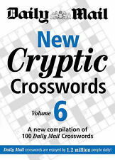 The Daily Mail New Cryptic Crosswords 6 BRAND NEW BOOK (Paperback 2008)