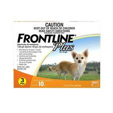 Frontline Plus For Small Dogs Orange Up To 10kg Flea Treatment - 3 & 6 Pack