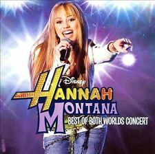 Miley Cyrus HANNAH MONTANA Best of Both Worlds Concert DVD & CD NEW