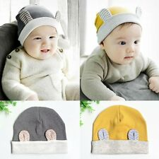 Lovely Toddler Kids Baby Boys Girls Infant Cotton Soft Warm Hat Cap 3-12 Months
