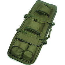 Square Shotgun Case Military Tactical Carry Bag Rifle Pouch Strap Shoulder