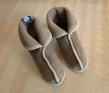 Shoes Slippers Camel Wool Felt sole All Sizes Made in Germany