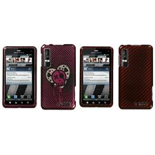 For Motorola Droid 3 XT862 Design Snap-On Hard Case Phone Skin Cover