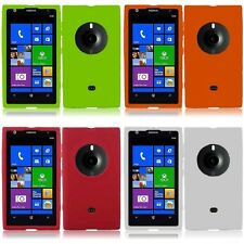 For Nokia Lumia 1020 Silicone Skin Soft Rubber Case Phone Cover