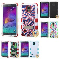 For Samsung Galaxy Note 4 Hybrid TUFF IMPACT Phone Case Hard Rugged Cover