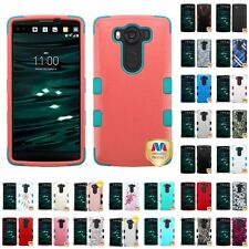 For LG V10 Hybrid TUFF IMPACT Phone Case Hard Rugged Cover