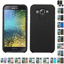For Samsung Galaxy E5 S978L Hybrid IMPACT Hard TUFF Hybrid Case Phone Cover