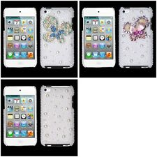 For Apple iPod Touch 4th Gen Diamond Bling Rhinestone Case Phone Cover