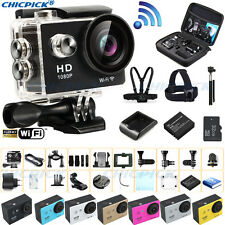 Full HD Waterproof WiFi Sports Action Camera 1080P Travel Cam Gopro Accessories