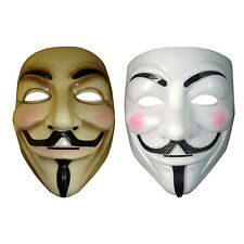 V Vendetta Movie Fancy Costume Mask Guy Men Fawkes Anonymous Halloween Cosplay